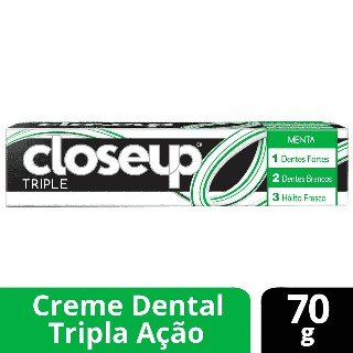 Creme dental Close-Up Triple Menta 70g