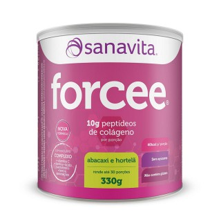 Forcee Abacaxi com hortelã 330g