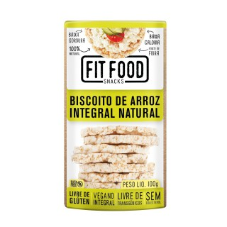 Biscoito FitFood Arroz Natural 100g