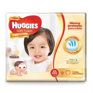 Fralda Huggies Soft Touch Jumbo