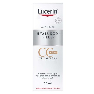 Eucerin Hyaluron-Filler CC Cream Médio 50ml