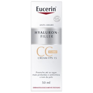 Eucerin Hyaluron-Filler CC Cream Claro 50ml