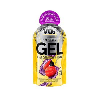 VO2 Energy gel Guaraná e açaí 30g sachê