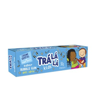 Creme dental Tra la la Kids Bubble Gum 50g