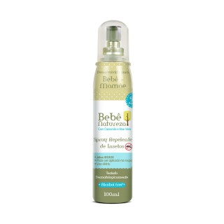 Repelente Bebe Natureza spray 4 horas 120ml