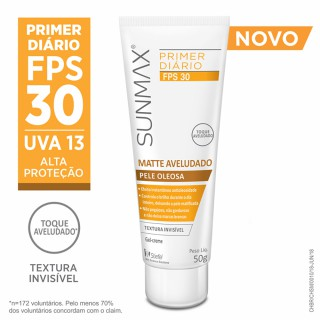 SunMax FPS-30 Sensitive Aveludado Bisnaga 50g