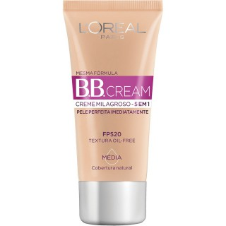 Base BB Cream 5 em 1 Média 30ml
