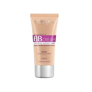 Base BB Cream 5 em 1 Clara 30ml