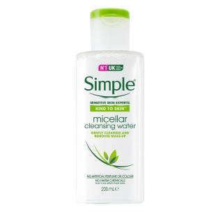 Água Micelar Simple 200ml