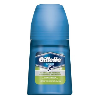 Desodorante Gillette roll on antitranspirante Power Rush 60g