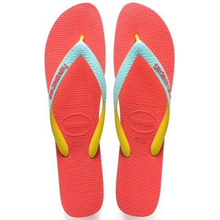 Sandálias Havaiana Top Mix Coralnew