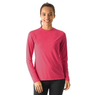 Camisa Uvline UVPRO Colors ML Feminina Rosa Gloss