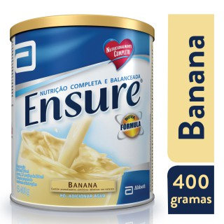 Suplemento Adulto Ensure Pó Sabor Banana 400g