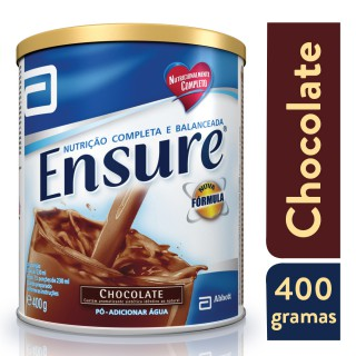 Suplemento Adulto Ensure Pó Sabor Chocolate 400g