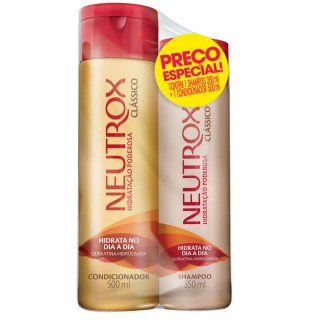 kit Shampoo 350ml+Condicionador 500ml Neutrox Clássico
