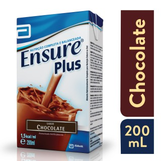 Suplemento Adulto Ensure Plus Sabor Chocolate 200ml