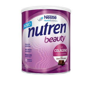Suplemento Alimentar NUTREN BEAUTY Dark Chocolate 400g