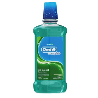 Enxaguante bucal Oral-B Hortelã Leve 500ml Pague 300ml