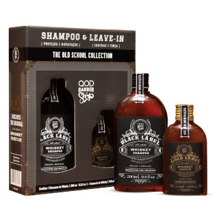 Shampoo QOD Whiskey 290ml+Leave in Whiskey 145ml