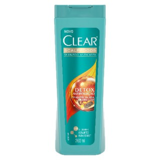 Shampoo clear women anti caspa detox antip 200ml