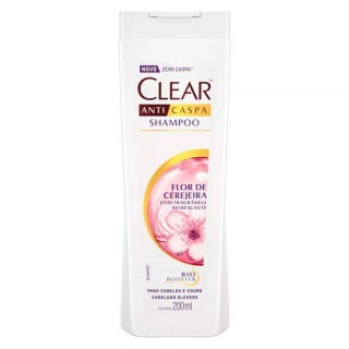 Shampoo clear women anticaspa flor cerejeira 200ml