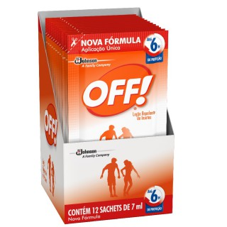 Repelente OFF Sachet com 7ml
