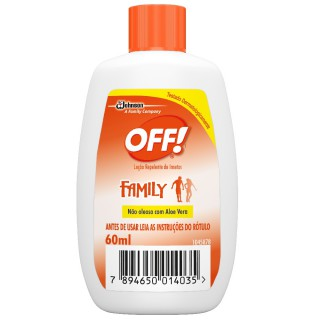Repelente OFF Family Loção com 60ml