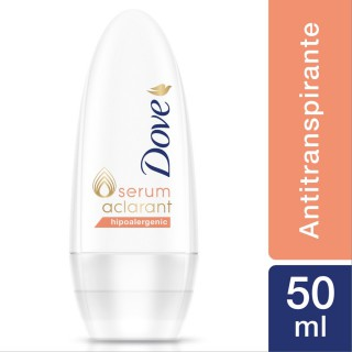 Desodorante rollon dove serum aclarant hipoalergenico 50 ml