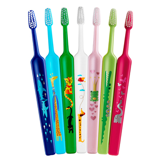 Escova de dente Tepe select kid zoo macia