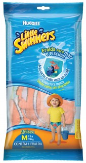 Fralda Huggies little swimmers M