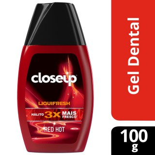Gel dental Close-Up fresh red hot 100g