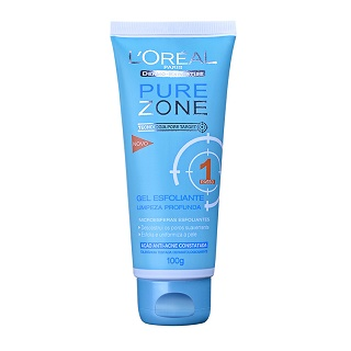 Gel Pure Zone esfoliante 100g
