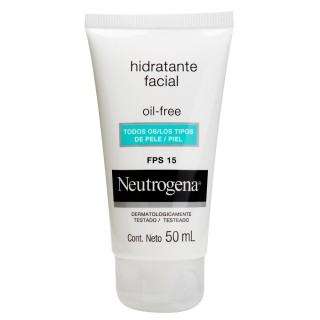 Gel Creme Hidratante Oil Free Neutrogena Fps15 50ml