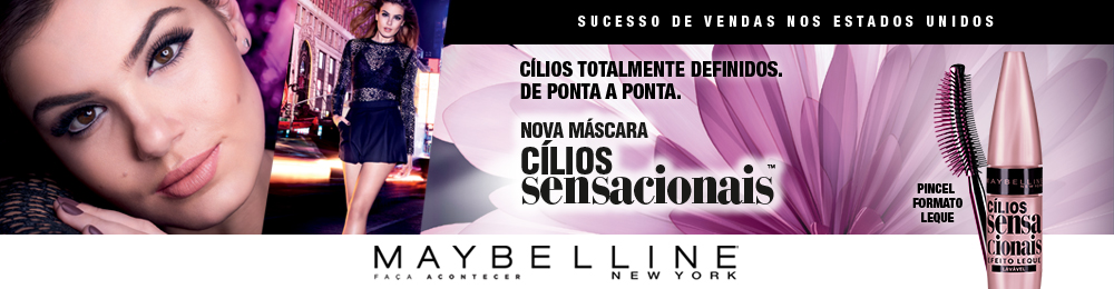 Lateral beauty | Maybelline Máscara Lash Sensation