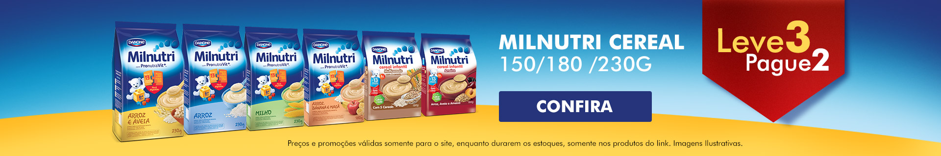 Home | Milnutri Cereal leve 3 Pague 2