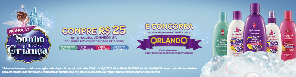 Dep Infantil | Johnson J&J Disney Orlando