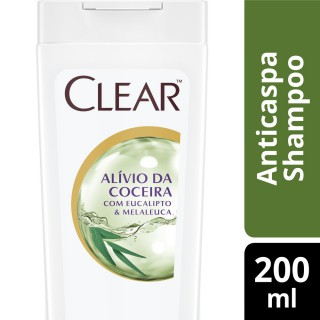 Shampoo Clear women anticoceira 200ml