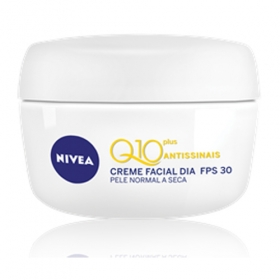 Creme Facial Dia Nivea Q10 Plus Antissinais Fps 30 Pele Normal A Seca 52 G