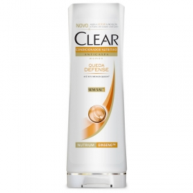Condicionador Clear Women Anticaspa Queda Defense 200ml