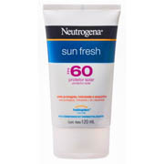 Protetor Solar Sun Fresh Fps 60 Neutrogena - 120ml