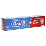 Oral B Creme Dental 123 Escudo Anti-Caries 70g