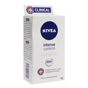 Barra Antitranspirante Clinical Intense Control Feminino