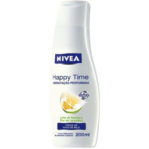 NIVEA LOÇÃO HIDRATANTE 200ML HAPPY TIME