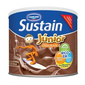 Sustain Júnior Danone Sabor Chocolate 350 G