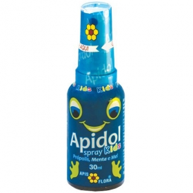 Apidol Spray Kids Própolis, Menta e Mel 30ml