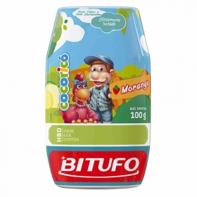 Gel Dental Bitufo Cocoricó Morango 100gr