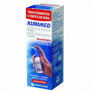Kuramed Spray Antisséptico com 50 Ml