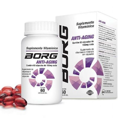 BORG ANTI AGING 150MG 60CPS